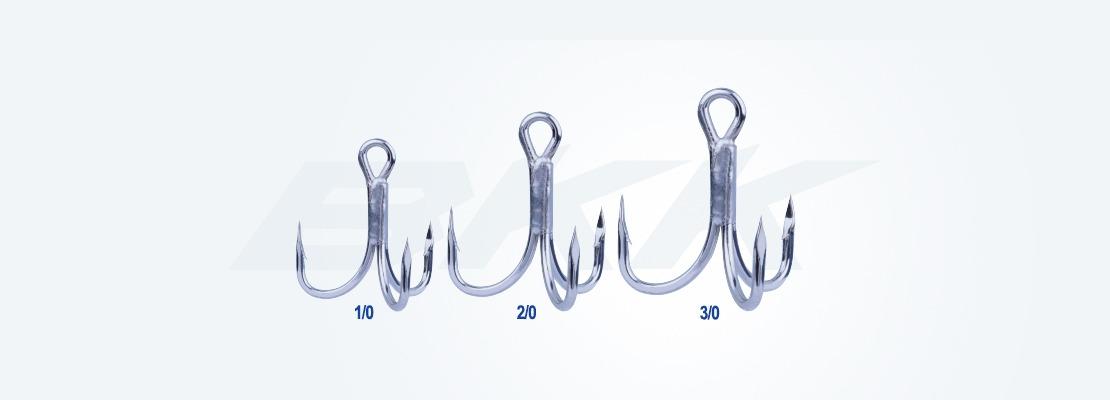 Medium heavy duty hook, salt water hook, fresh water treble hook, bkk hook