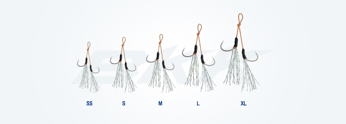 micro and light jigging hook, casting hook, pelagic fish hook, bkk hook