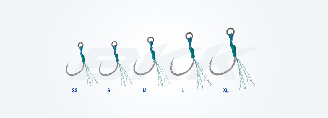 micro and light jigging hook, casting hook, pelagic fish hook