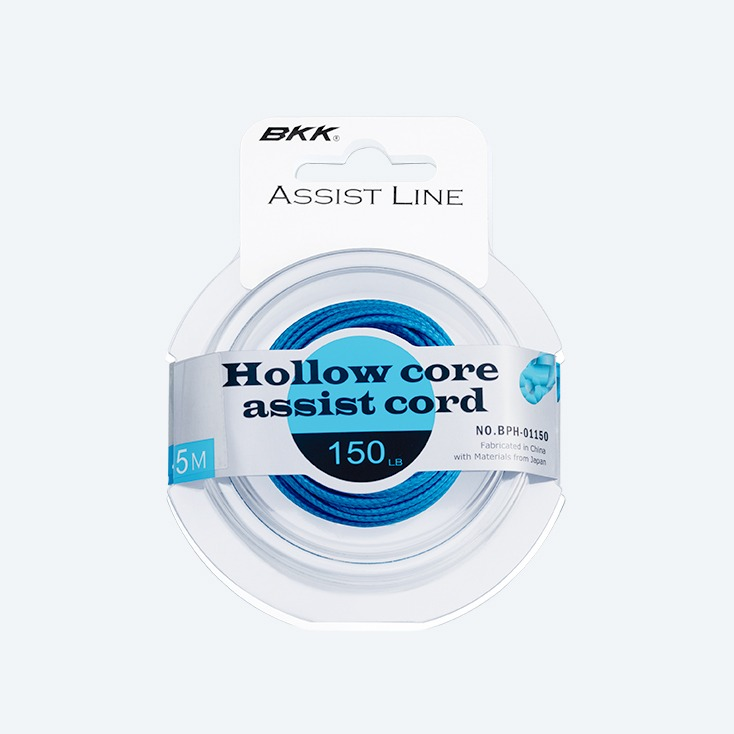 BKK Hollow Core Assist fishing Cord