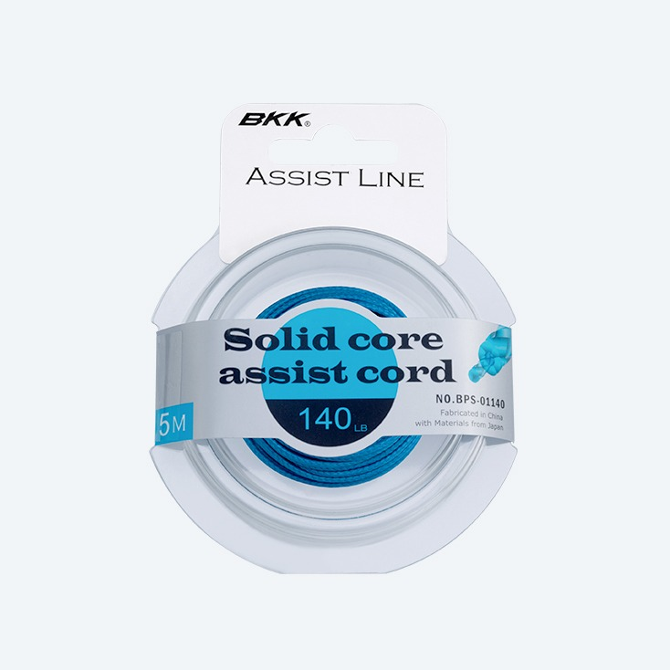 BKK Solid Core Assist fishing Cord,bkk solid core cord