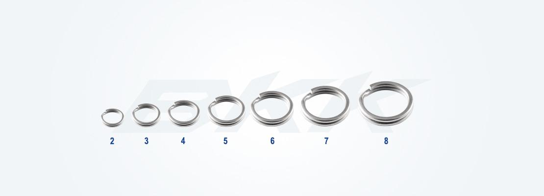 fishing hook,BKK Oval split ring, lure fishing ring, bkk hook